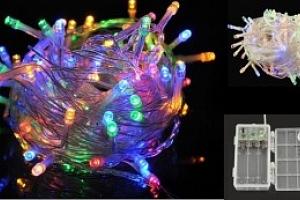 Vánoční osvětlení 100 LED multicolor...