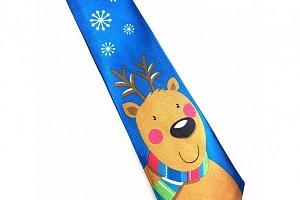 Kravata s vánočními motivy...