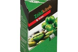 Zelená káva s chromem 90 tbl...