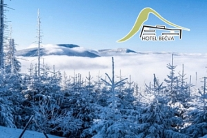 Zima v Horní Bečvě v Beskydech pro dva...