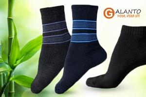 Dámské nebo pánské ponožky s bambusovým vláknem...