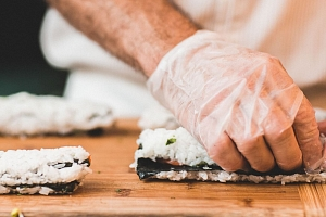 Kurz Sushi...