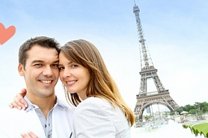 Valentýn v Paříži na 4 či 5 dní...