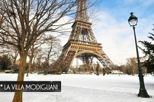 4denní zimní pobyt v Paříži pro 2 osoby...