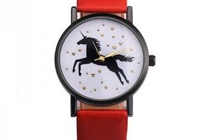 Dámské hodinky s jednorožcem...