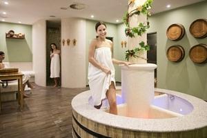 Wellness ve vinných lázních Hotelu Centro Hustopeče...
