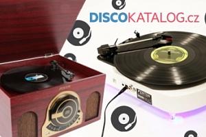 Stylové gramofony v retro i moderním designu...