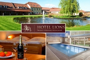Wellness pro dva v luxusním hotelu Lions ve Středních Čechách...