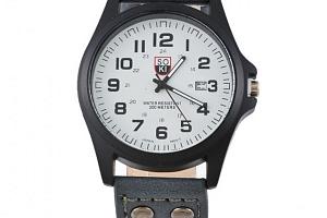 Náramkové hodinky v jednoduchém stylu...