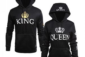Královna a Král mikina pro pár...
