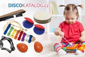 Dětské perkusní sady a sady hudebních nástrojů...