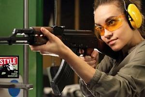 Střelba z 5-12 druhů zbraní...