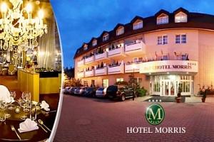 Wellness pobyt na 3 dny pro dva v hotelu Morris Nový Bor...