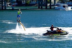 Flyboarding - zábava na vodě...