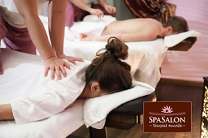 Thajská olejová masáž pro 2 osoby...