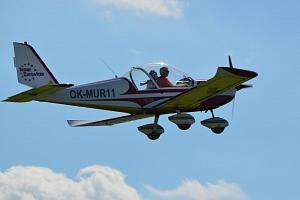 Pilotem ultralehkého letadla na zkoušku...