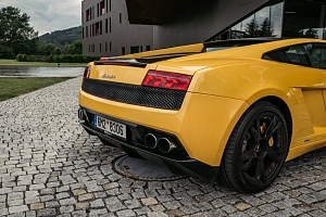 Jízda v Lamborghini Gallardo...