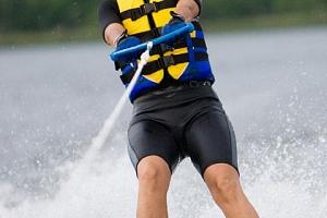 Vodní lyžování...