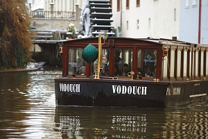Plavba na lodi pražskými Benátkami...