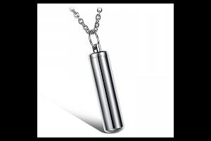 Stylový pánský ocelový náhrdelník...
