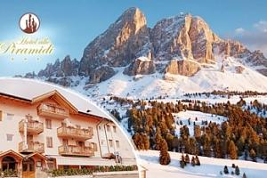 Jižní Tyrolsko na 5 dní pro dva se snídaněmi a bazénem...