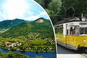 Sobotní výlet vyhlídkovou tramvají Saským Švycarskem...