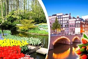 Jarní zájezd za tulipány do Holandska...