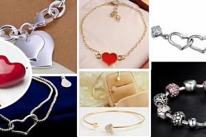 Valentýnské náramky z lásky...
