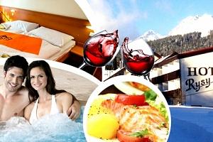 Zimní nebo jarní wellness pobyt s balíčkem slev v Hotelu Rysy...