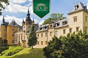 Polsko na 3-4 dny na zámku pro dva s polopenzí a wellness...