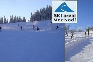 Celodenní skipas do ski areálu Mezivodí v Beskydech...