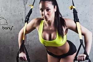 TRX cvičení s vahou vlastního těla na 55 minut...