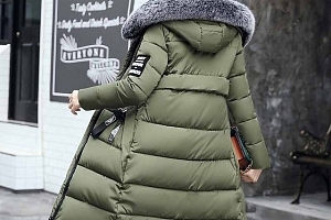 Dlouhá zimní bunda Agnes...