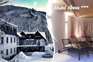 Ubytování v Harrachově na 3 dny pro 2 osoby s polopenzí...