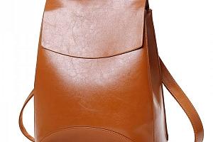 Městský elegantní batoh v imitaci kůže...