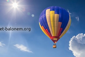 Vyhlídkový let balonem na 2 hodiny...