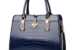 Luxusní dámská kabelka s krokodýlím vzorem...