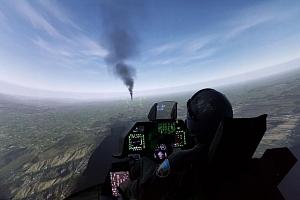 Zážitek na leteckém bojovém simulátoru F-16 Fighting Falcon...