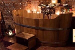 60min. romantická koupel pro dva...