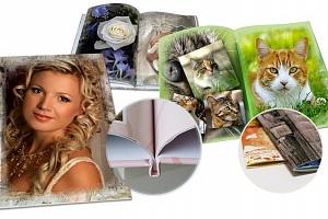 Luxusní fotokniha z vlastních fotografií...