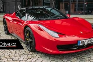 Jízda ve Ferrari 458 Italia či v Lamborghini Gallardo LP560-4...