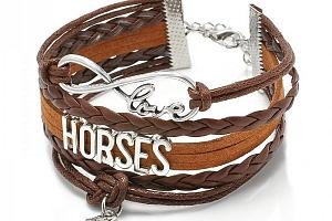 Vintage náramek pro milovníky koní...