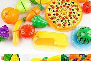 Dětský set - krájení ovoce a zeleniny...