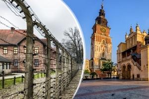 Výlet do koncentračního tábora v Osvětimi, Krakova a Wieliczky...