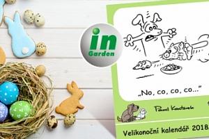 Velikonoční kalendář s obrázky a vtipy p. Pavla Kantorka...