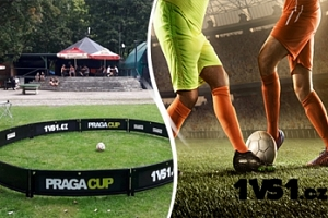 Netradiční fotbal...