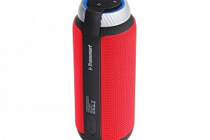 Červený Bluetooth reproduktor...