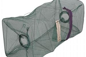 Rybářská síť s kapsou pro návnadu...