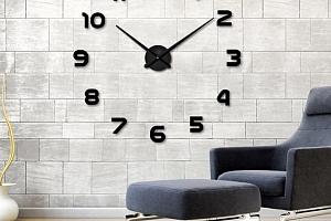 Velké nástěnné 3D hodiny...