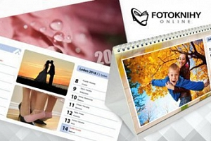 Stolní kalendář z vlastních fotografií...